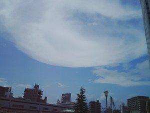 これも地震雲?:2005年ナカヤっちの脱力アワ~ コラム一覧:記念日の ...