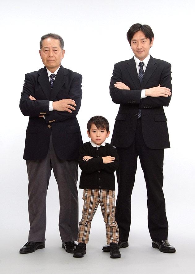 家族写真撮影のフォトギャラリー